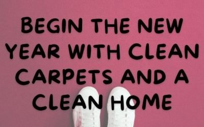 Begin the New Year with Clean Carpets and a Clean Home